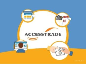 Đăng ký kiếm tiền với Accesstrade